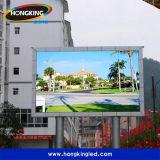 Visualización de pantalla al aire libre de alquiler de P10 LED