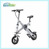 Batería de litio sin cadenas Dos de ruedas plegable mini bicicleta eléctrica