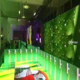 HD (512mm*512mm*75mm) Die-Casting 내각 Indoor&Outdoor (P4 P8) 발광 다이오드 표시