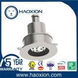Взрывозащищенный инспекции LED Отверстие лампы изготовлен из нержавеющей стали