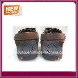 Ботинки сандалии пляжа неподдельной кожи для сбывания