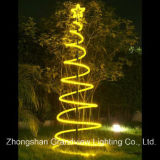 Рождество СИД Rope Spiral Tree Lights с SGS RoHS CE