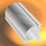 L'alluminio su ordinazione del caffè espresso riveste il sistema di pannelli della parete divisoria di /Profiles