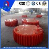 Séparateur magnétique électrique/sec de haute performance pour le minerai/fer de bidon