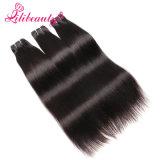 100%はまっすぐな人間の毛髪の拡張で縫う