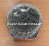 Prodotto di plastica della ciotola del grande volume a gettare con il coperchio