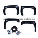 4PCS Pocket Riveted Fender Flare Fit 07-12 Chevrolet Silverado Short Bed