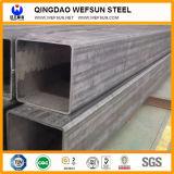 Longitud estándar profesional para el tubo de acero rectangular de la construcción