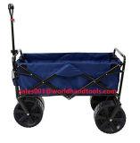 يطوي عربة منفعة [غردن كرت] شاطئ تسوق عربة أحمر, زرقاء