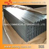 Il rifornimento caldo/laminato a freddo la bobina galvanizzata tuffata calda del materiale da costruzione ondulata coprendo il piatto d'acciaio del metallo