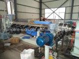 Linha da tubulação de fonte da água do HDPE do PE que faz a máquina 160mm-400mm