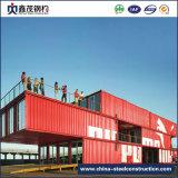 China Prefab ou Prefabricated Mobile Container House com WC (cabine de contentores)