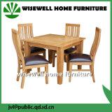 6개의 의자 (W-5S-995)로 놓이는 오크재 식당 가구