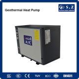 - топление 10kw/220V дома метра зимы 120sq зоны 25c теплового насоса источника петли круга гликоля -15c подогревателем воды земного геотермическим