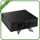 Flip di lusso Top Magnetic Closure Gift Box con Ribbon