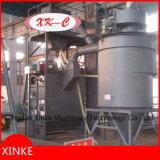Machine de grenaillage de courroie de dégringolade avec le système de chargement