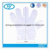 Устранимые ровные & выбитые перчатки упругости PE для медицинских & хирургических участков