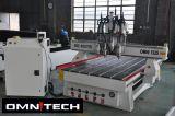 4つのスピンドルキャビネットのための木製の働く機械CNCのルーター