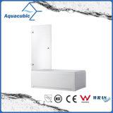Salle de bain en verre Simple douche et douche écran (AQ-GLHY601A)