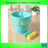 Plastic Drawstring Zakken, de Plastic Zak van het Afval met Drawtape