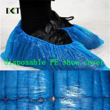 Cubierta médica antideslizante disponible Kxt-Sc15 del zapato del Nonwoven PP/PE/CPE
