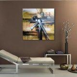 Modèle Peinture-Neuf de pétrole abstrait