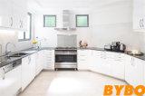 De nieuwe Houten Keukenkast van de Lak van het Ontwerp Moderne Hoge Glanzende