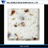 [تو] أكريليكيّة صلبة سطحيّة [فوإكس] حجارة عينة لوح اصطناعيّة رخاميّة