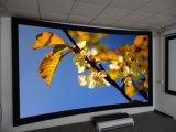 Le cinéma à la maison a courbé l'écran de projection de bâti fixe, écran incurvé de projecteur