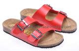 Chaussures de santal de liège de dames (SDB003)