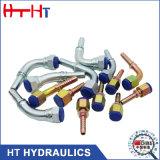 Guarnición de manguito hidráulica del acoplador rápido del acero inoxidable Jic/Bsp/JIS/Orfs/NPT/Metric del precio de fábrica
