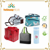 10 anos de Experience PP Non Woven Laminated Large Cooler Lunch Bag com Long Handles