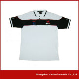 Últimas Design Thick Pique Cotton Polo T Shirts Maker (P106)
