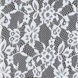 Diseño hermoso para las telas elásticos netas suaves del cordón