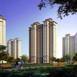 Representación arquitectónica de la visualización residencial del proyecto de la tecnología perfecta