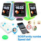 Nuevo 1.54 '' relojes del perseguidor del GPS de la pantalla táctil para los niños