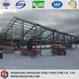 Светлый пакгауз стальной структуры с богатым опытом