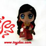 Кукла шаржа плюша