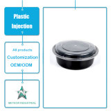 Het aangepaste Beschikbare Afgietsel van de Injectie van de Doos van de Opslag van de Container van het Snelle Voedsel van het Vaatwerk Plastic Plastic