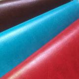 Thermo Farbe des Muster-R64, die mit heißem Stempel PU-Leder für Notizbuch und Tagebuch-Deckel ändert