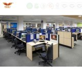 La forêt de FSC a certifié 2016 compartiments neufs modernes de centre d'appels de bureau de vente en gros de meubles de bureau de conception