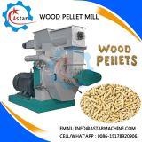 독어에 있는 기계를 만드는 톱밥 소나무 펠릿