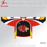 Coupure et hockey sur glace de couture Jersey de modèle d'OEM de Healong