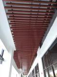 Techo de aluminio exterior del tubo del cuadrado del perfil, 15 años de garantía