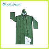Rpp-026 imperméable à l'eau imperméable PVC / Polyester vêtements pour hommes