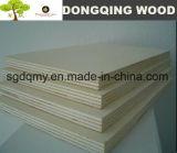 Hojas de la madera contrachapada del álamo 4*8 y madera contrachapada del grado de la decoración