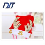 Regalo decorativo della protezione dei Antlers dorati del cappello di natale del bambino