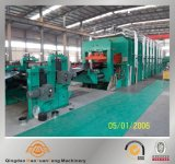 ISO SGS BV를 가진 Rubber Conveyor Belt Vulcanizing Curing Press Production Line