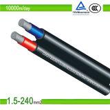 o cabo distribuidor de corrente solar da C.C. de 2.5mm2 /4.0mm2/6.0mm2 picovolt para UL/TUV aprovou
