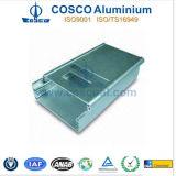 Alumínio/Aluminium Caso para Audio e Electronics